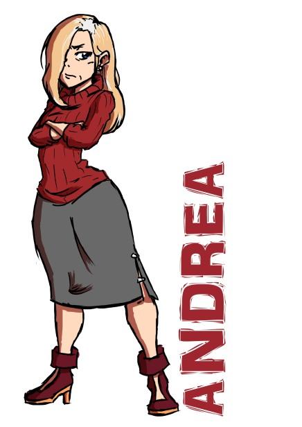 Andrea Grey Hair