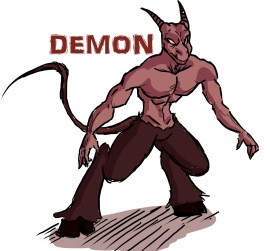 demon design